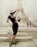 Love, From Paris Print by Steve Henderson
