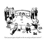 New Yorker Cartoon Reproduction giclée Premium par Drew Dernavich