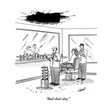 """Bad chair day."" - New Yorker Cartoon Premium Giclee Print by Tom Cheney"