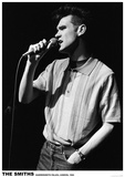 The Smiths- Morrissey- London 1984 Lámina