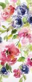 Watercolor Cascade I Posters av Carol Robinson