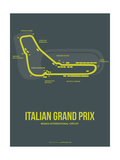 Italian Grand Prix 2 Metalldrucke von  NaxArt