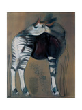 Okapi, 2005 Metal Print by Mark Adlington