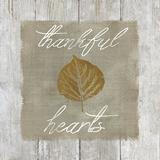 Thankful Hearts Stampe di Carol Robinson