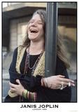 Janis Joplin- London 1969 Photographie
