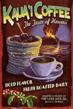 Kauai Coffee Vintage Sign - Kauai, Hawaii Julisteet tekijänä  Lantern Press