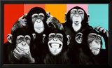 The Chimp Compilation Pop Art Print Poster Posters