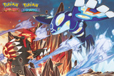 Pokemon- Groudon & Kyogre Poster
