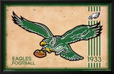 Philadelphia Eagles - Retro Logo 14 Posters