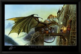 Dragon Spell Prints by Chris Achilleos