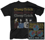 Cheap Trick- World Tour 1978 (Front/Back) T-Shirts