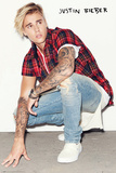 Justin Bieber- Crouch Posters