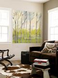 Whispering Treeline II Wall Mural by Jennifer Goldberger