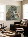 Patterned Horse II Seinämaalaus tekijänä Tim O'toole