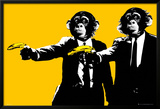 Monkeys - Bananas Prints