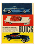 GM Big Bright Beautiful Buick Poster