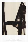 Slate Cross Schilderij van Franz Kline