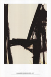 Slate Cross Poster by Franz Kline