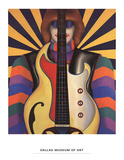 Rock-Rock Poster van Richard Lindner