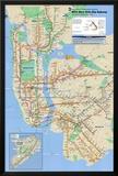 Nova York - metrô Pôsteres