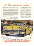 GM Air Born B-58 Buick-Miracle Print