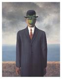 Son of Man (Small) Kunstdrucke von Rene Magritte