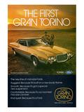 Ford 1972 Gran Torino 2-Door Poster