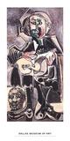 The Guitarist Poster von Pablo Picasso