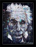 Einstein 3D Framed Art Foto di Stephen Fishwick