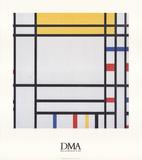 Praça da Concórdia Posters por Piet Mondrian