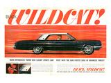 GM Buick - Wildcat Luxury Car Posters