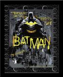 Batman Defender Gotham 3D Framed Art Fotografia
