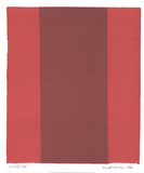 Canto XIV Impressão colecionável por Barnett Newman