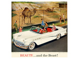 GM Buick -Beauty and the Beast Print