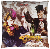 Cheers - Old Fashioned Throw Pillow Throw Pillow