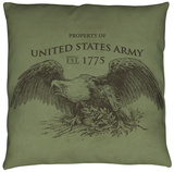 Army - Property Throw Pillow Throw Pillow