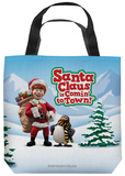 Santa Claus Is Comin To Town - Kris And Topper Tote Bag Tote Bag