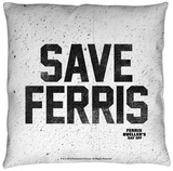 Ferris Bueller - Save Ferris Throw Pillow Throw Pillow