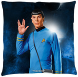 Star Trek - Spock Throw Pillow Throw Pillow
