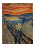 The Scream, 1893 Impressão giclée por Edvard Munch