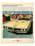 GM Pontiac - Here It's 1968… Póster