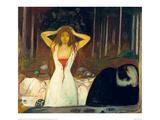 Ashes, 1894 Reproduction procédé giclée par Edvard Munch