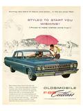 GM Oldsmobile - F-85 Cutlass Art