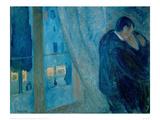 The Kiss, 1892 Reproduction procédé giclée par Edvard Munch