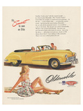 GM Oldsmobile - Smart to Own Poster