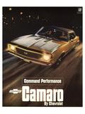 GM Chevy Comaro Performance Láminas