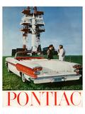GM Pontiac-A Bold New Car Affiches