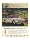 GM Oldsmobile-Check the Score Lámina