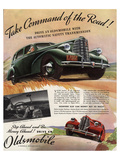 GM Oldsmobile-Command the Road Poster