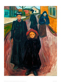 The Four Ages of Life, 1902 Giclee-trykk av Edvard Munch